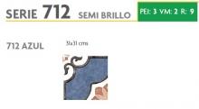 BRASILIA 712 AZUL 31X31
