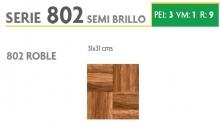 BRASILIA 802 ROBLE 31X31 SEMI BRILLOSO