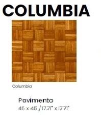 COLUMBIA 45X45