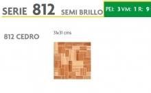 BRASILIA 812 CEDRO 31X31 SEMI BRILLOSO
